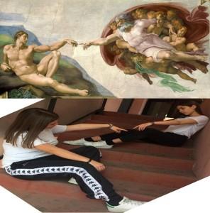 2AL La creazione di Adamo Michelangelo