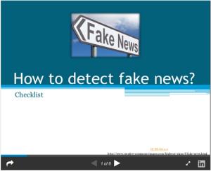Fake news det