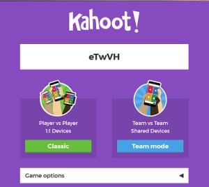 final kahoot